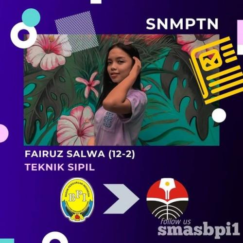 SMA BPI 1 BANDUNG Fairuz