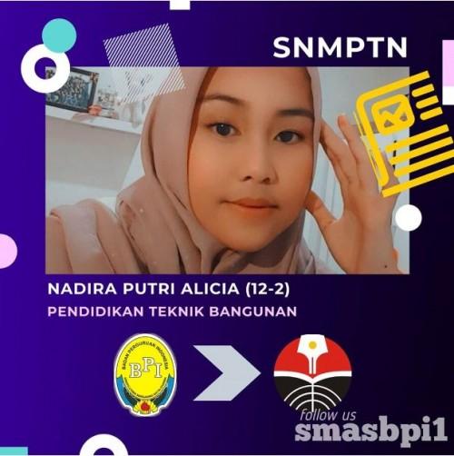 SMA BPI 1 BANDUNG Nadira