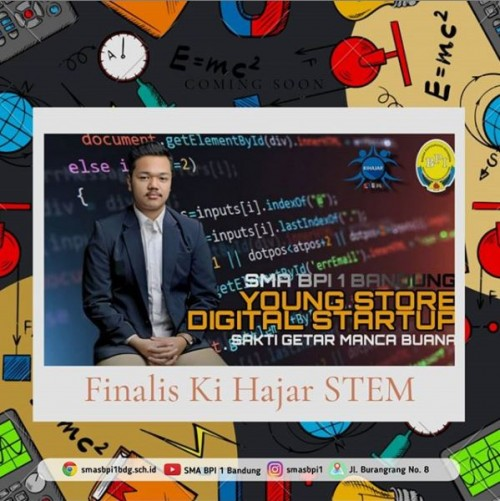 SMA BPI 1 BANDUNG KihajarSTEM-Young Store Digital Startup