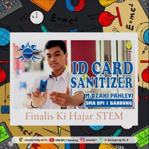 SMA BPI 1 BANDUNG KihajarSTEM-ID Card Hand Sanitizer