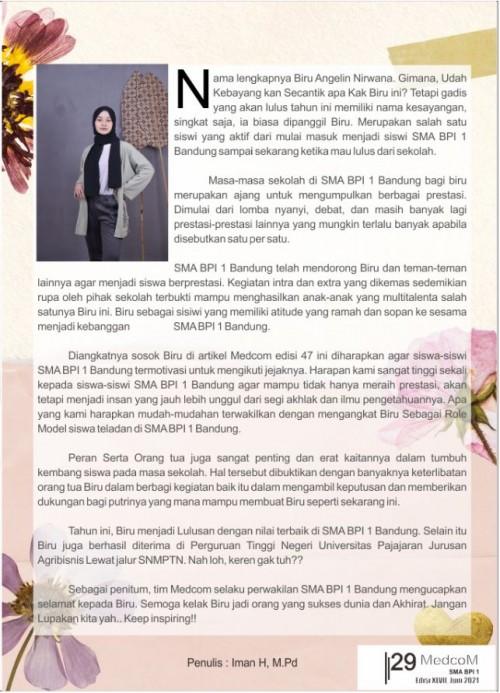 SMA BPI 1 BANDUNG Hal 29