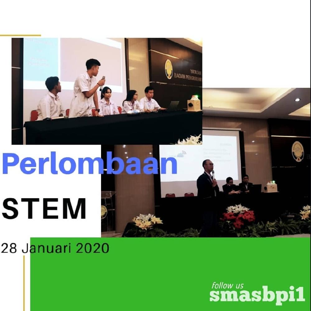 SMA BPI 1 BANDUNG Perlombaan STEM