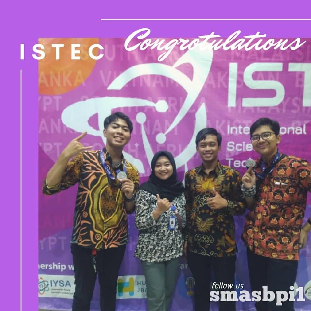 SMA BPI 1 BANDUNG From nametag to silver medal