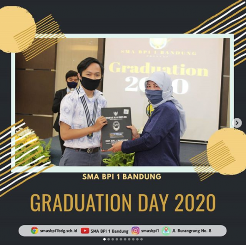 SMA BPI 1 BANDUNG Graduation Virtual