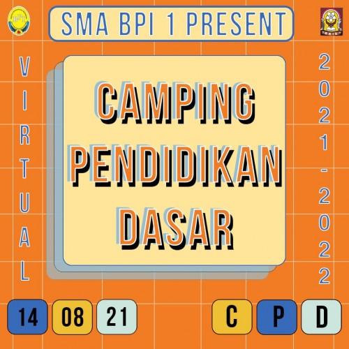 SMA BPI 1 BANDUNG Camping Pendidikan Dasar