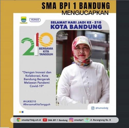 SMA BPI 1 BANDUNG Hari Jadi Kota Bandung