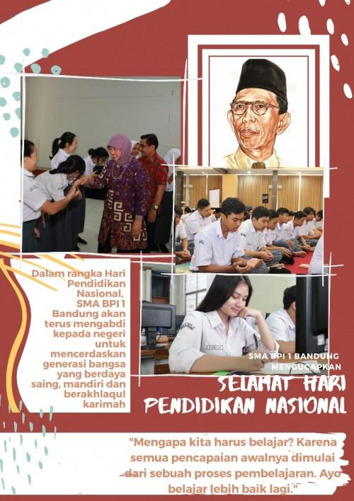 SMA BPI 1 BANDUNG Hari Pendidikan Nasional