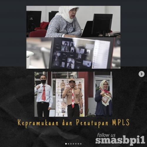 SMA BPI 1 BANDUNG Kepramukaan dan Penutupan MPLS