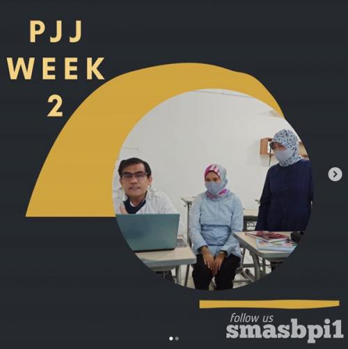 SMA BPI 1 BANDUNG PJJ Week 2