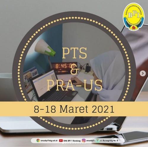 SMA BPI 1 BANDUNG PTS & PRA US