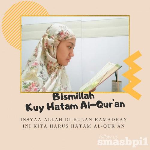 SMA BPI 1 BANDUNG SMA BPI 1 Hatam Al-Qur'an