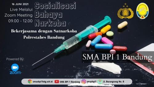 SMA BPI 1 BANDUNG Sosialisasi Bahaya Narkoba